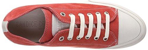 Candice Cooper Damen Camoscio Sneaker Rot (lampone)