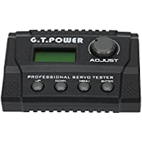 Goolsky G.T.POWER Professional Servo Tester for RC Aircraft Helicopter Car Servo