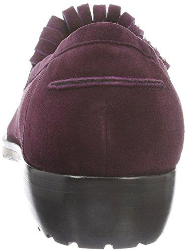 Giudecca Jy16r20-94, Mocasines para Mujer Rojo - Rot (Hd-Yj24 Red Wine)