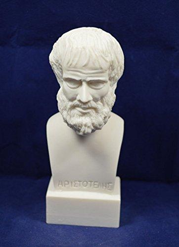 Estia Creations Aristote Sculpture Aristoteles Grec Ancien Philosophe alb/âtre Statue