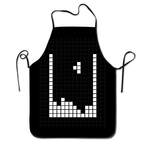 Tetris Green Costumes (Classic Game Tetris Kitchen Aprons)