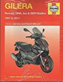 HAYNES 1997-2011 GILERA RUNNER, DNA, ICE & SKP/STALKER SERVICE MANUAL (4163)