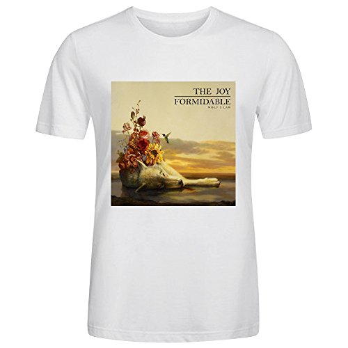 The Joy Formidable Wolfs Law Custom T Shirts Design Round Neck White (Joy Carpets Rock)