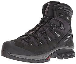 Salomon Men's Quest 4d 3 Gtx Trail Running Shoe, Phantomblack, 9.5 D Us