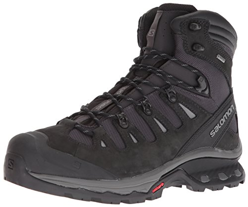 Salomon Men's Quest 4D 3 GTX Backpacking Boots, Phantom/Black, 10 D US from Salomon
