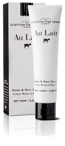 Scottish Fine Soaps Au Lait 100ml/3.5oz Hand & Nail Cream by Scottish Fine Soaps