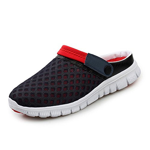 d4be53580ef8 SAGUARO Men Women Non-Slip Breathable Mesh Net Slippers Beach Sandals Sport  Casual Shoes Summer