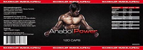 Anabol Power - 120 Kapseln + PsychoTech - 120 Kapseln - Sparpaket