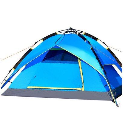 分泌するガロン退屈な自動ファミリー3-4ダブルキャンプアウトドアキャンプ防水パッケージサイズ:43 * 18センチメートル、持ち運びしやすい