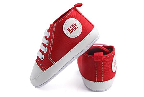 Pictures of WAM Baby Boys Girls Canvas Toddler Sneaker 4