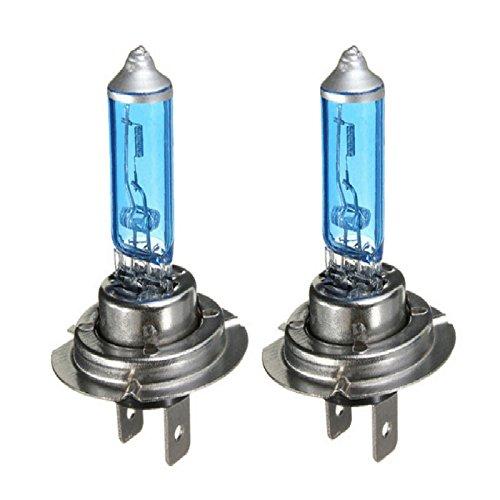 UTP 2pcs H7 12V 55W 6000K High Powe Super White Halogen Xenon Bulbs White Fog fashion Light Source