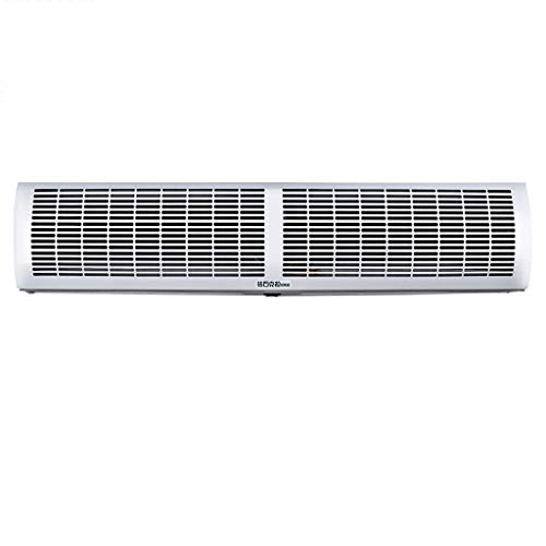 Control Air Curtain - Air curtain Lxn White Super Thin Alloy Case Commercial/Home Indoor 2 Speeds Single Cold with Button Switch, Powerful, Quiet, Small Body, Light Weight