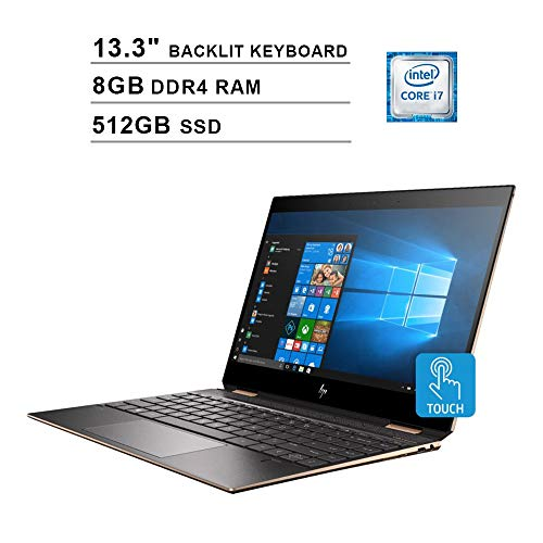 HP Spectre x360 Newest 13.3 Inch FHD 1080P Touchscreen 2-in-1 Laptop -...