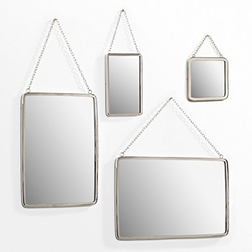 La Redoute Large Rectangular Barber Mirror Other Size One Size by La Redoute