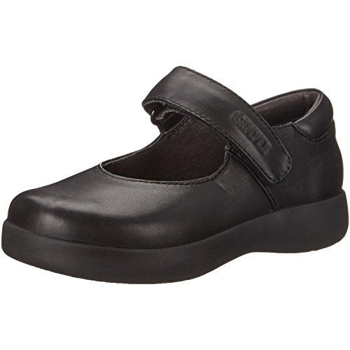 Camper Kids Spiral Comet Mary Jane (Toddler/Little Kid/Big Kid), Black, 33 EU (2 M US Little Kid)