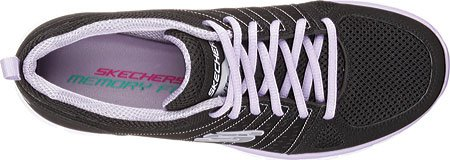 Skechers (SKEES) - Synergy-Look Book, Scarpa Tecnica da donna, nero (bklv), 36