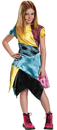 UHC Sally Nightmare Before Christmas Burton Gothic Rag Doll Halloween Costume, L (10-12)