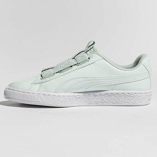 Puma Damen Schuhe/Sneaker Basket Maze Grün