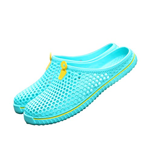 Meijunter Pantoletten Latschen Strand Hohl Slippers Schuhe Blau Classic Badeschuhe Sandalen Sky Unisex Atmungsaktiv Sommer Gartenschuhe aIUc0rxqaw