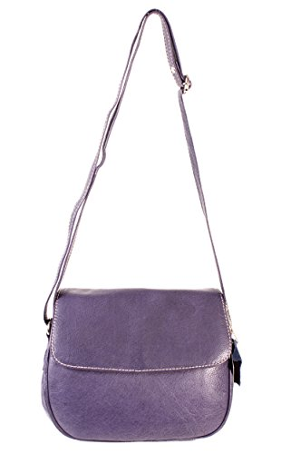 Oxbridge Satchel Donna Borsa Zainetto Small Shop A Viola OOZrT