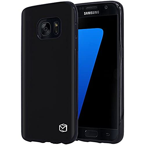 Galaxy S8 Case, MP-Mall [Slim Thin] Premium Flexible TPU Gel Rubber Soft Skin Silicone Protective Case Cover For Samsung Galaxy S8 (Black) Sales