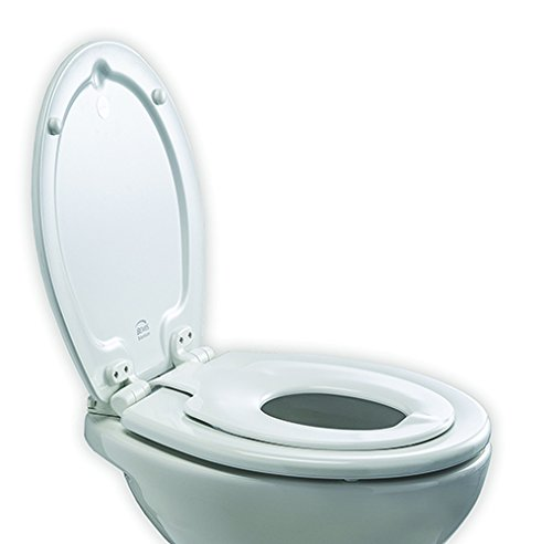 toilet seat manufacturers uk. Bemis NextStep STAY TIGHT Child Adult Slow Close Take off Toilet Seat  White