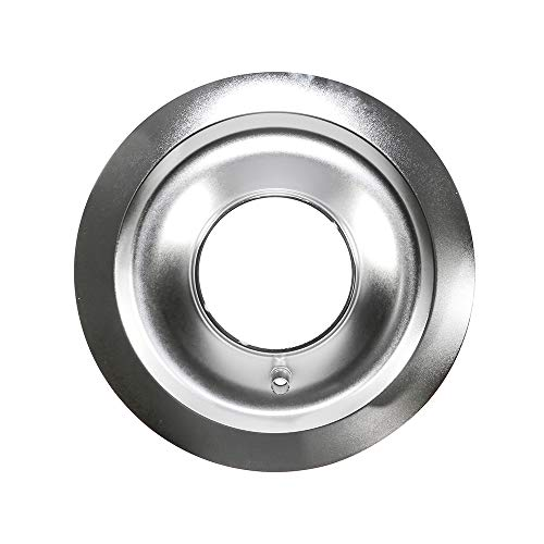 Assault Racing Products A2148B-C 14″ Round Chrome Steel Air Cleaner Flat Base