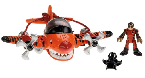 Fisher-Price Imaginext Sky Racers Flying - Airplane Flying Tiger