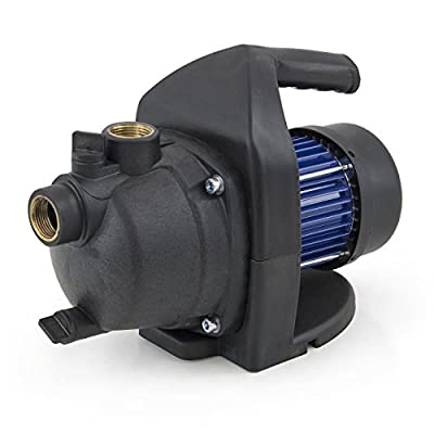 GHP 1.6HP 925GPH 1200W 63PSI Max Shallow Water Pressurized Garden Jet Booster Pump