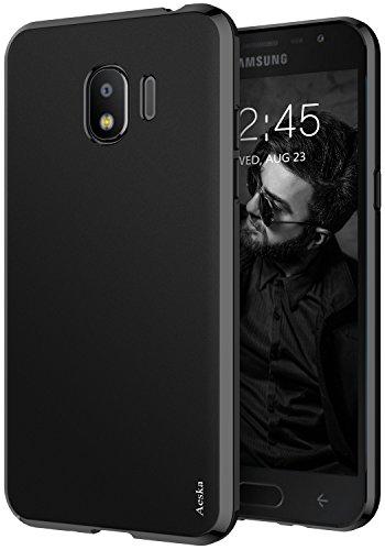 Galaxy J2 Pro 2018 / J2 2018 / Grand Prime Pro Case, Aeska Ultra [Slim Thin] [Matte] Flexible TPU Gel Rubber Soft Skin Silicone Protective Case Cover for Samsung Galaxy J2 Pro 2018 (Black)