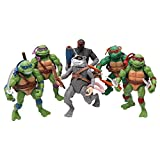 MALUNGMA Ninja Turtles 6PSC Set - Teenage Mutant Ninja Turtle TMNT Action Figures - Michelangelo Leonardo Raphael Donatello Splinter Shredder