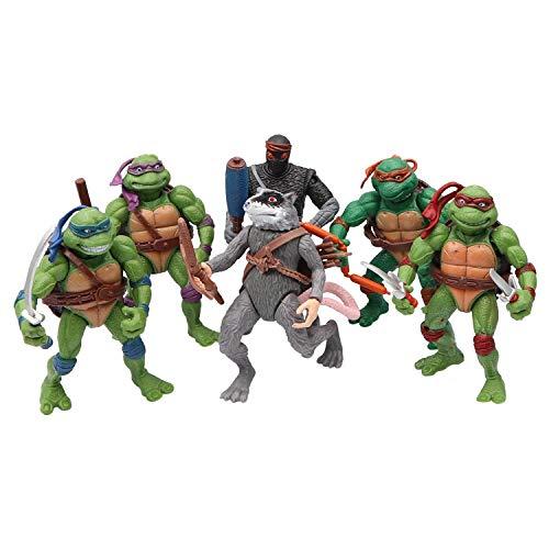 Michelangelo Ninja Turtle - MALUNGMA Ninja Turtles 6 PSC Set