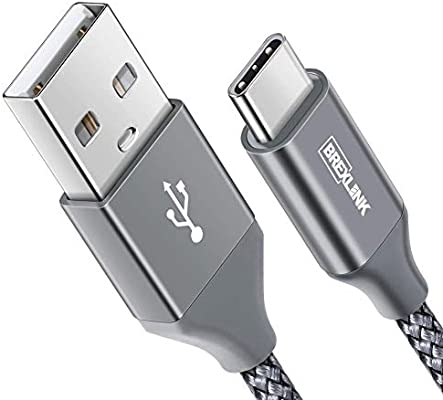 BrexLink Cable USB Tipo C Carga Rapida [2M,1 Pack], Tipo C ...