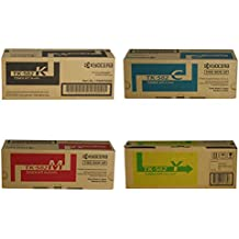 Kyocera TK582 (TK-582) 4-Color Toner Cartridge Set for P6021cdn, FS-C5150dn
