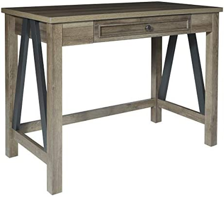 OSP Home Furnishings Braydon 42-Inch Wide Writing Desk