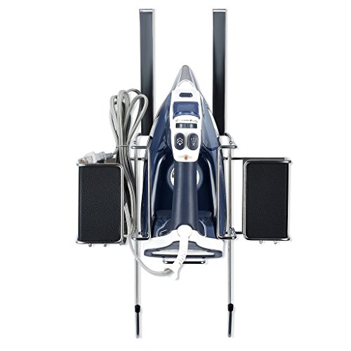 Ironing Board Hanger With Storage Basket For Clothing