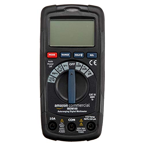 Find Bargain AmazonCommercial 4000 Count Auto Ranging Digital Multimeter