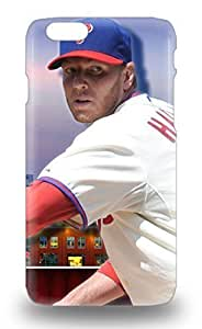 Flexible PC Back For For Iphone 5C Phone Case Cover MLB Philadelphia Phillies Roy Halladay #34 ( Custom Picture For Iphone 5C Phone Case Cover )