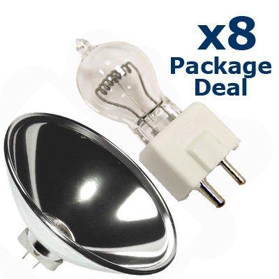 8x PAR 64 Reflector 600w DYS PAR64 CAN Light Bulb - Par 64 Reflector