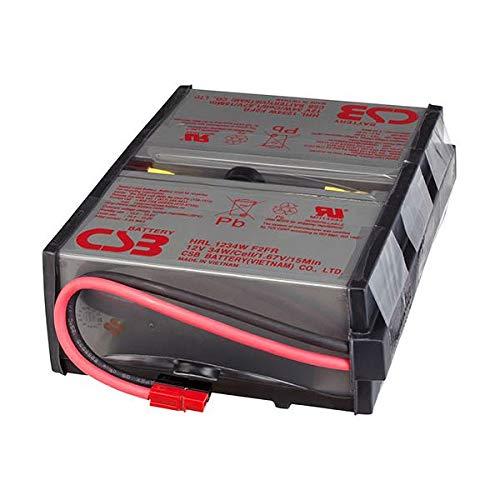 オムロン UPS交換用バッテリパックBU100RW用 BUB100R 1個 ds-2136099 B07MDF67V1