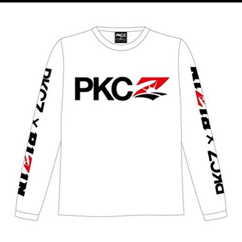 PKCZ×RIZIN 長袖 Tシャツ 白 ロンT Mサイズの商品画像