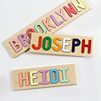 South Bend Woodworks Personalized Wooden Name Puzzle
