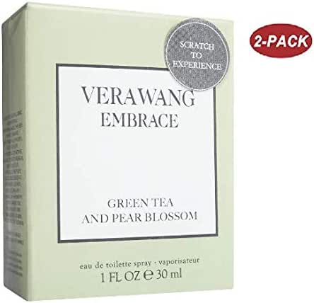 Vera Wang Embrace Women's Toilette Spray Green Tea 1 oz (pack of 2)