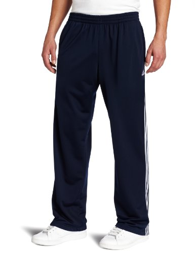 adidas Men's Varsity Culture Post Game Pant, Collegiate Navy/White, Large ()