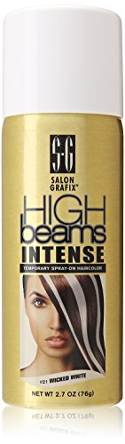 high  (Temporary White Hair Dye)