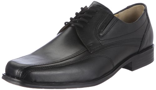 Fretz Men Nevada Mannen Derby Lace Up Brogues Zwart (51 Noir)