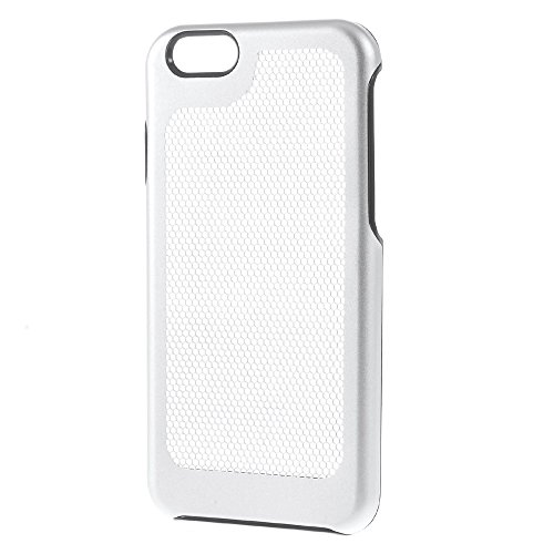 Apple iPhone 7 Sac étui Cover Case Grille de protection Case Argent decui Argent plastique rigide Coque
