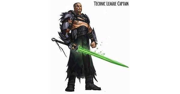 Reaper Miniatures 60113 Pathfinder Series Technic League Captain Miniature REM60113