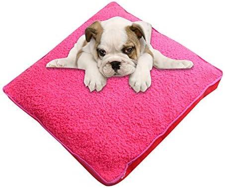 XISTORE Alfombrillas de Cama para Perro, colchón Lavable, colchón para Mascotas, Perros, Gatos, Gatos, Cama de Viaje, sofás y sillas para Perros, 50 x 50 cm