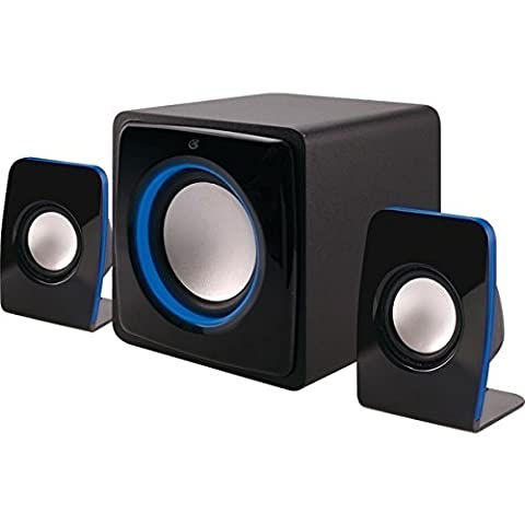 GPXHB36B - ILIVE HB36B Bluetooth(R) Home Music System with LED Lights - 3 Light Jt System